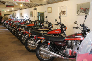 "Z900s in our ""Showroom"" May 2018"