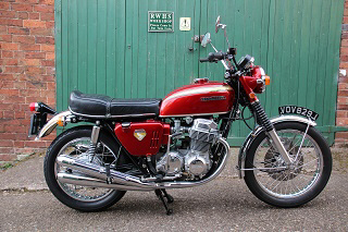 1970 Honda CB750 (an original UK registered machine)