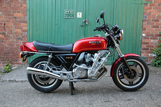 1980 Honda CBX1000Z - rare UK bike
