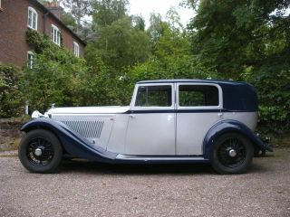 1934 Bentley 3.5 Litre Saloon by Hooper