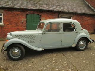 1955 Citroen Light 15 Saloon