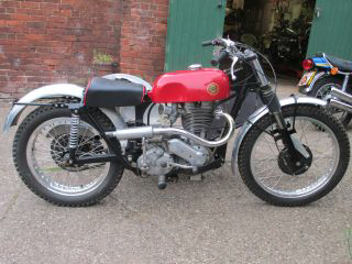 1956 Ariel 500 Trials Combination