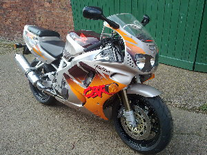 "1994 Honda Fire Blade - ""Urban Tiger"""