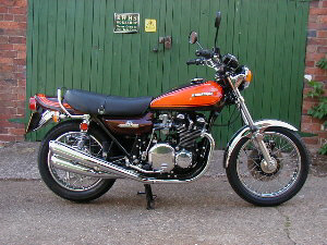 1973 Kawasaki Z1 900 original UK bike