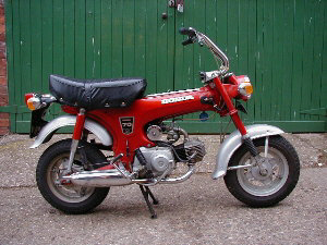 1970 Honda Monkey Bike