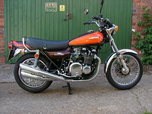 1973 Kawasaki Z1 900 - a very rare original UK registered example in Candy Orange