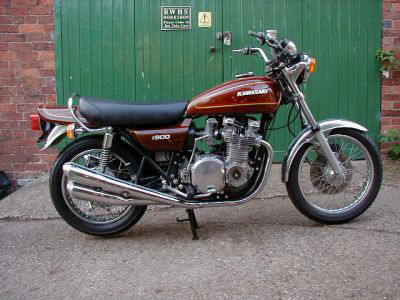 1976 Kawasaki Z900A4 in Diamond Brown